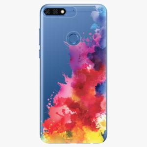 Silikonové pouzdro iSaprio - Color Splash 01 - Huawei Honor 7C