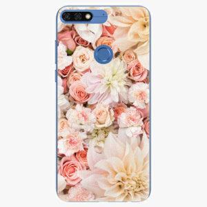 Silikonové pouzdro iSaprio - Flower Pattern 06 - Huawei Honor 7C