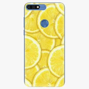 Silikonové pouzdro iSaprio - Yellow - Huawei Honor 7C