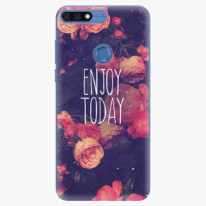 Silikonové pouzdro iSaprio - Enjoy Today - Huawei Honor 7C