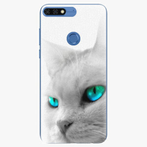 Silikonové pouzdro iSaprio - Cats Eyes - Huawei Honor 7C