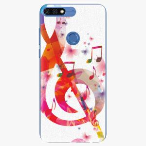 Silikonové pouzdro iSaprio - Love Music - Huawei Honor 7C