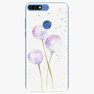 Silikonové pouzdro iSaprio - Dandelion - Huawei Honor 7C