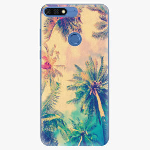 Silikonové pouzdro iSaprio - Palm Beach - Huawei Honor 7C