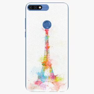 Silikonové pouzdro iSaprio - Eiffel Tower - Huawei Honor 7C