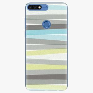 Silikonové pouzdro iSaprio - Stripes - Huawei Honor 7C
