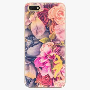 Silikonové pouzdro iSaprio - Beauty Flowers - Huawei Honor 7S