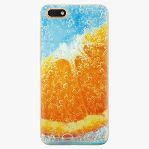 Silikonové pouzdro iSaprio - Orange Water - Huawei Honor 7S