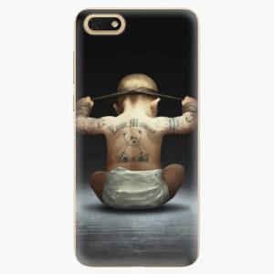 Silikonové pouzdro iSaprio - Crazy Baby - Huawei Honor 7S