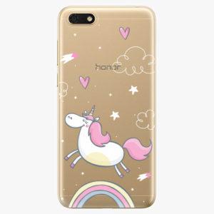 Silikonové pouzdro iSaprio - Unicorn 01 - Huawei Honor 7S