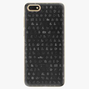 Silikonové pouzdro iSaprio - Ampersand 01 - Huawei Honor 7S