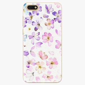 Silikonové pouzdro iSaprio - Wildflowers - Huawei Honor 7S