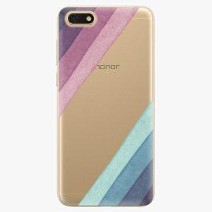 Silikonové pouzdro iSaprio - Glitter Stripes 01 - Huawei Honor 7S