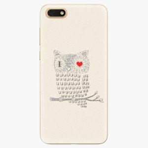 Silikonové pouzdro iSaprio - I Love You 01 - Huawei Honor 7S