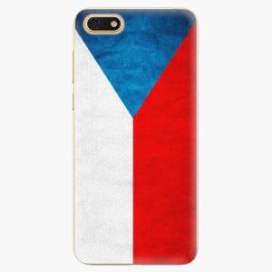 Silikonové pouzdro iSaprio - Czech Flag - Huawei Honor 7S