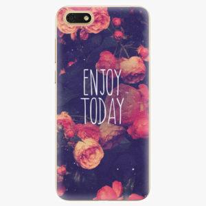 Silikonové pouzdro iSaprio - Enjoy Today - Huawei Honor 7S