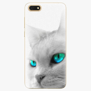 Silikonové pouzdro iSaprio - Cats Eyes - Huawei Honor 7S