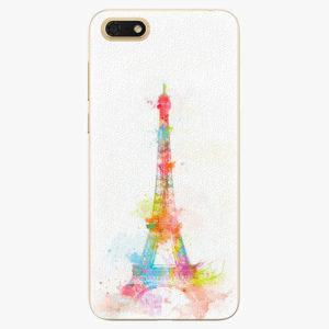 Silikonové pouzdro iSaprio - Eiffel Tower - Huawei Honor 7S