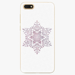 Silikonové pouzdro iSaprio - Snow Flake - Huawei Honor 7S