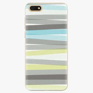 Silikonové pouzdro iSaprio - Stripes - Huawei Honor 7S