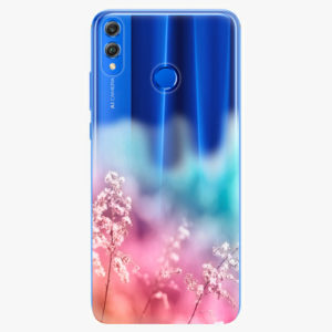 Silikonové pouzdro iSaprio - Rainbow Grass - Huawei Honor 8X