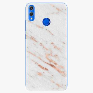 Silikonové pouzdro iSaprio - Rose Gold Marble - Huawei Honor 8X
