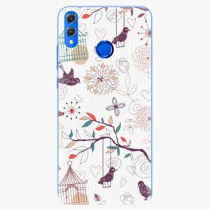 Silikonové pouzdro iSaprio - Birds - Huawei Honor 8X