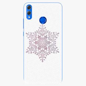 Silikonové pouzdro iSaprio - Snow Flake - Huawei Honor 8X