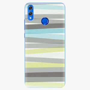 Silikonové pouzdro iSaprio - Stripes - Huawei Honor 8X