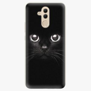 Silikonové pouzdro iSaprio - Black Cat - Huawei Mate 20 Lite