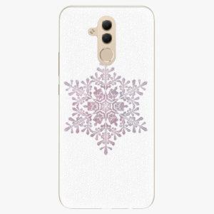 Silikonové pouzdro iSaprio - Snow Flake - Huawei Mate 20 Lite