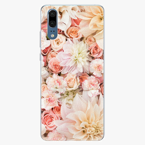 Silikonové pouzdro iSaprio - Flower Pattern 06 - Huawei P20