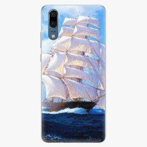 Silikonové pouzdro iSaprio - Sailing Boat - Huawei P20