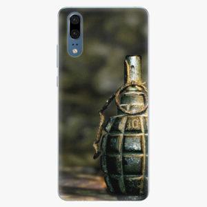 Silikonové pouzdro iSaprio - Grenade - Huawei P20