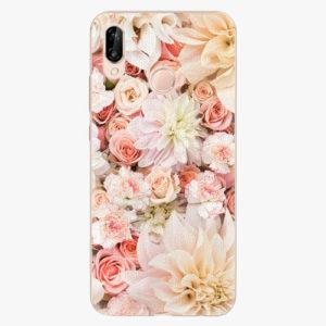 Silikonové pouzdro iSaprio - Flower Pattern 06 - Huawei P20 Lite