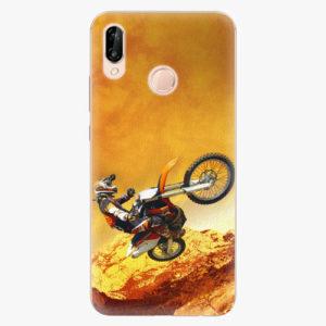Silikonové pouzdro iSaprio - Motocross - Huawei P20 Lite