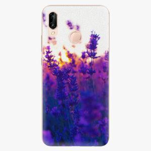 Silikonové pouzdro iSaprio - Lavender Field - Huawei P20 Lite