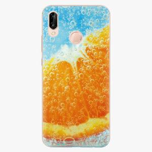 Silikonové pouzdro iSaprio - Orange Water - Huawei P20 Lite