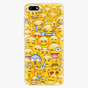 Silikonové pouzdro iSaprio - Emoji - Huawei Y5 2018