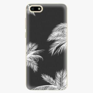 Silikonové pouzdro iSaprio - White Palm - Huawei Y5 2018