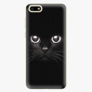 Silikonové pouzdro iSaprio - Black Cat - Huawei Y5 2018