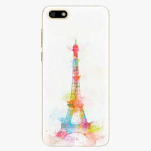 Silikonové pouzdro iSaprio - Eiffel Tower - Huawei Y5 2018