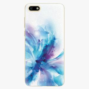 Silikonové pouzdro iSaprio - Abstract Flower - Huawei Y5 2018