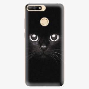Silikonové pouzdro iSaprio - Black Cat - Huawei Y6 Prime 2018