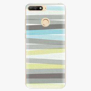 Silikonové pouzdro iSaprio - Stripes - Huawei Y6 Prime 2018