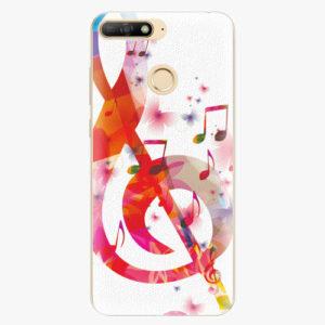 Silikonové pouzdro iSaprio - Love Music - Huawei Y6 Prime 2018
