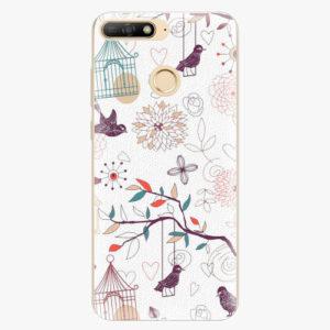 Silikonové pouzdro iSaprio - Birds - Huawei Y6 Prime 2018