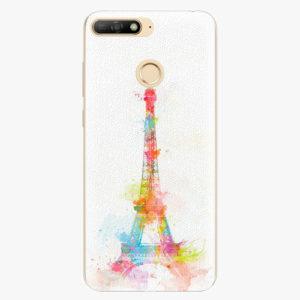 Silikonové pouzdro iSaprio - Eiffel Tower - Huawei Y6 Prime 2018