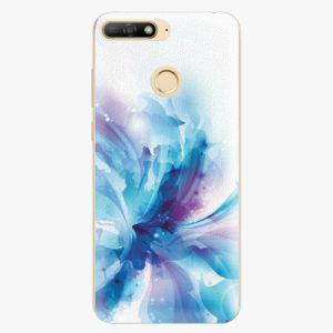 Silikonové pouzdro iSaprio - Abstract Flower - Huawei Y6 Prime 2018