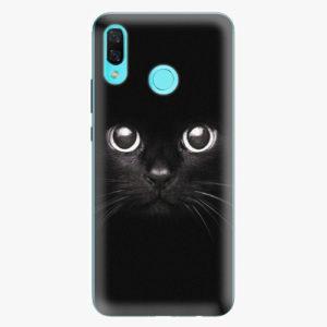 Silikonové pouzdro iSaprio - Black Cat - Huawei Nova 3